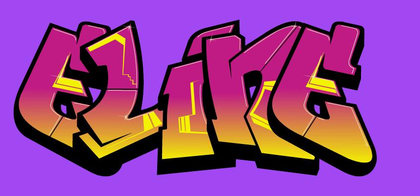 Favoriete Graffiti Letters - Juf Eline - Lesideeën Basisonderwijs &UC06
