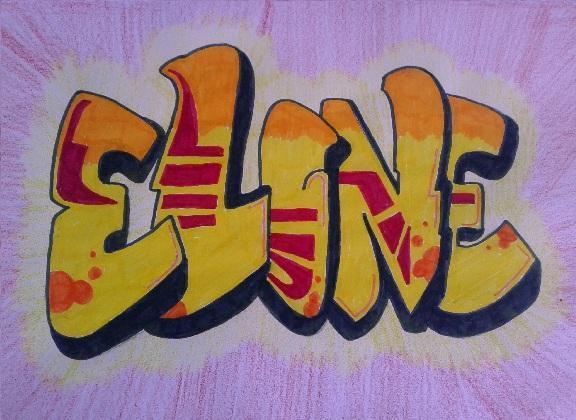 Vaak Graffiti Letters - Juf Eline - Lesideeën Basisonderwijs #XL34